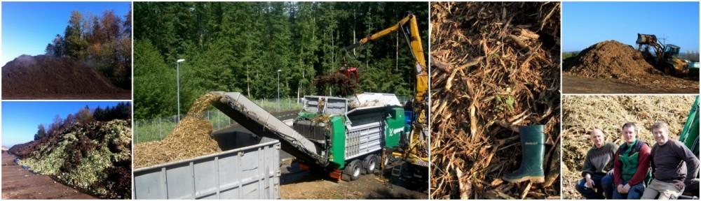 des déchets verts, broyage de bois et souches près de Lausanne ~ Entreprise De Broyage De Bois